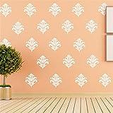 Wandaufkleberdekoration Europäischen stil 21sätzevon großeblume wandaufkleberpersonalisierte dekoration57 * 160 cm, B