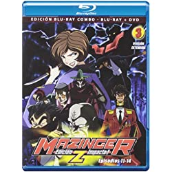 Mazinger Z (Shin Mazinger Z) - Volumen 3 (Combo br+dvd) [Blu-ray]