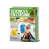 Kit pour réaliser des expériences scientifiques dans ta cuisine