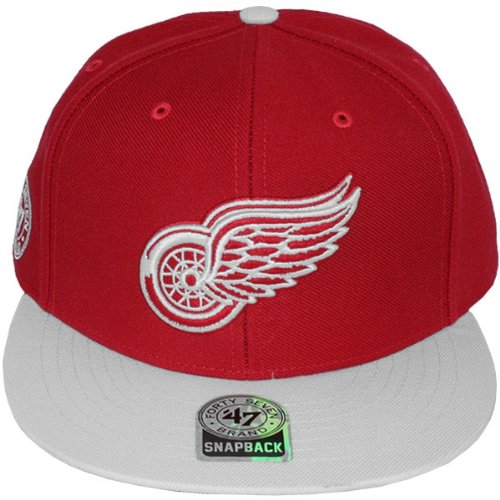 47 Brand - Casquette Snapback Homme Detroit Red Wings Ignition