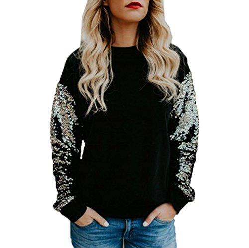 LILICAT - Camicia - Moda - Maniche lunghe  -  donna Black