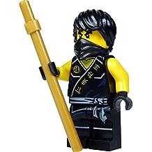 LEGO Ninjago: Minifigur Cole with golden Rod NEW
