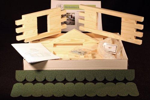 Vogelhaus Bausatz (Groß) - Grün