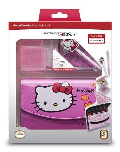 "Nintendo 3DS XL - Zubehör-Set ""Official Essential Hello Kitty Pack"" (Pink)"