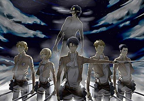 Koshizu Anime Calendario da Parete 2020 (13 Pagine 20,3 x 27,9 cm) Attack on Titan # Giappone Manga Postapocalittico