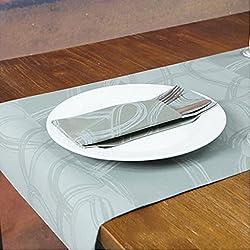 Liuyu Cocina Inicio Mesa de comedor disponible de la servilleta de la bandera del vector del hotel de la servilleta de la bandera de la tabla ( Tamaño : Table mats 50 Pcs )