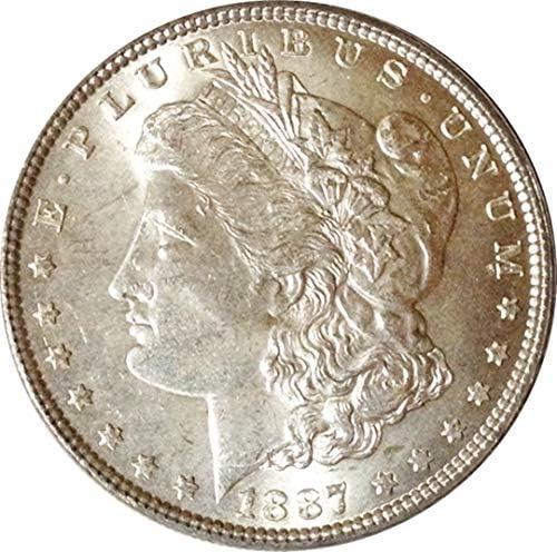 1887 US Mint Silver dollar, .900 .900 .900 Argent , Uncirculated, not a reproduction | à Prix Réduits  f3f944