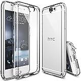 Coque HTC One A9, Ringke FUSION Absorption des chocs TPU Bumper Protection Goutte [Gratuit Protecteur D'écran][CRYSTAL VIEW]Anti-Statique, Résistant aux rayures pourHTC One A9