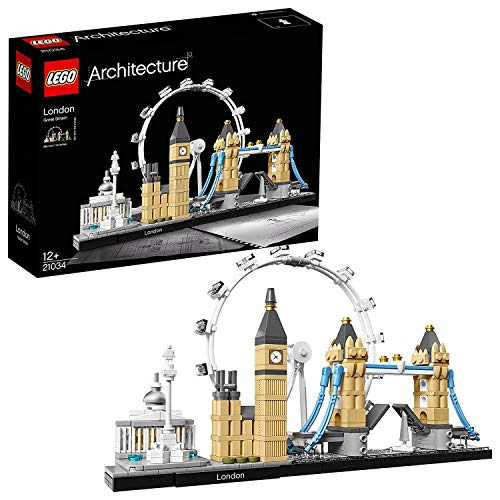 LEGO- Architecture Skyline Collection Juego de Construcción Londres, Color beige/gris (21034)