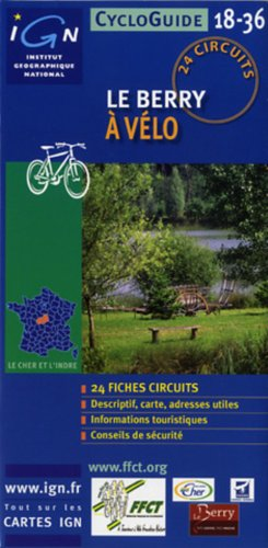 Berry Cycloguide 24 Circuits: IGNCYCLOG.36