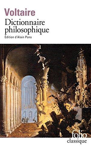 Dictionnaire philosophique (Folio Classique) (French Edition)