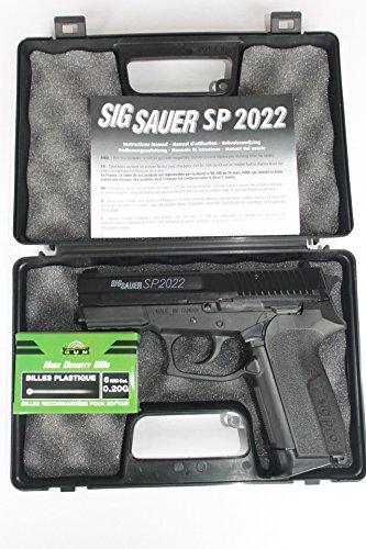 SIG SAUER SP2022 Softair mit Waffenkoffer (Softair Sig Gewehr)