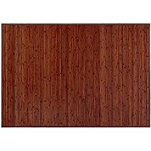 Alfombra color Madera de Nogal. Bambú