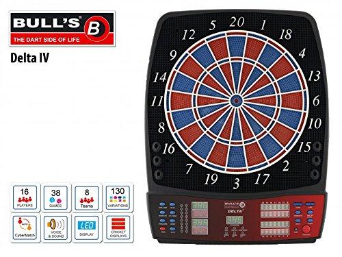 BULL\'S Delta IV RB Sound Elektronik Dartboard Typ: STANDARD