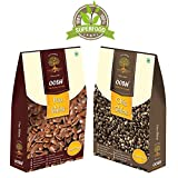 #9: OOSH Superfood Combo of Chia Seed 250g & Flax Seed 250g ( Value Pack of 2 - 250g each)