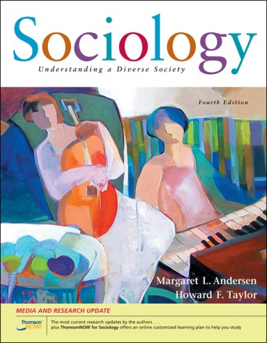 Sociology: Understanding a Diverse Society; Media and Research Update