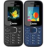 Snexian M3022 Feature Mobile Phone Combo Of Two Mobiles(Blue+Black) With 1.8 Inch, Dual Sim, Open FM, 1000 Mah Battery, BLUETOOTH, CAMERA, Upto 16 GB Expandable Memory, BIS CERTIFIED & 1 YEAR WARRANTY