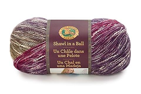 Lion Brand Yarn Shawl In A Ball Yarn, Cotton, Calming Desert