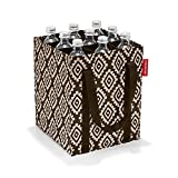 Reisenthel bottlebag Sporttasche, 28 cm, 6.75 L, Diamonds Mocha