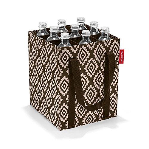 reisenthel bottlebag Flaschentasche 9 Fächer - 24 x 28 x 24 cm diamonds mocha -