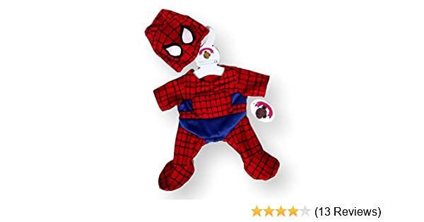 Teddys Build a Bear Spider Man Schlafanzug