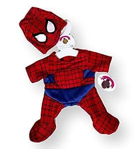 Build a Bear Spider Man Schlafanzug Bärenbekleidung & Accessoires
