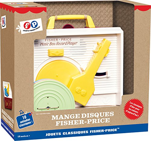 Fisher Price  -  Jeu Electronique - Mange Disques Asmokids