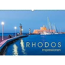 RHODOS Impressionen (Wandkalender 2018 DIN A3 quer): 13 faszinierende Aufnahmen der Insel Rhodos. (Monatskalender, 14 Seiten ) (CALVENDO Orte) [Kalender] [Apr 15, 2017] Dieterich, Werner
