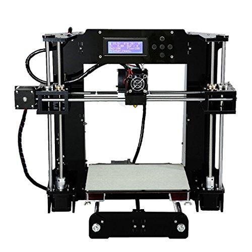Anet X6 High Speed Precision DIY 3D Drucker Printer Kit mit größerer Druckgröße 220*220*250mm | PLA ABS 1.75mm Filament | Auto-Nivellierung | Technischer Support - 2