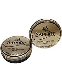 Modèles Saphir Sur La Peau De Carbone Noir Saphir, Couleur, Taille 36