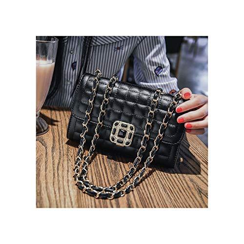Tan Leder Hobo (Kleine Tasche Damen Fashion Messenger Bag Vintage Handtaschen, Schwarz - Schwarz - Größe: Einheitsgröße)