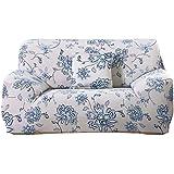 sourcingmap® En forma de L estiramiento Sofá Cubiertas Cubierta de la silla del sofá funda de sofá de 3 plazas 1 2