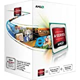 AMD A4 5300 CPU (3.4GHZ, 1MB Cache, 2 Core, HD7480D, Socket FM2, 65W, Retail Boxed)