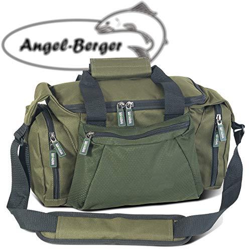 Angel-Berger Luxus Angeltasche mittel Zubehörtasche Kunstködertasche mit Boxen