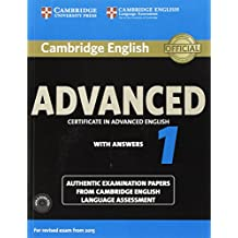 Cambridge English Advanced 1 for Revised Exam from 2015 Student's Book Pack (Student's Book with Answers and Audio CDs (2)): Authentic Examination Language Assessment (CAE Practice Tests)