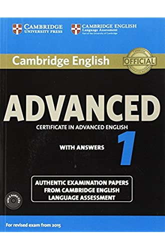 Certificate in Advanced English with Answers for Revised Exam from 2015 Student's Book Pack