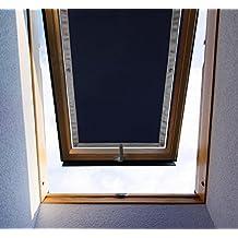 Purovi® Thermo Protection solaire   Store Occultant pour fenêtre de Toit   Tabatière   diverses tailles   Protection anti-UV   protection solaire, réduction de la chaleur   60 x 78cm compatible avec les fenêtres VELUX MK04