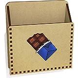 Azeeda 'Barre Chocolatée' Lettre en Bois Titulaire / Boîte (LH00037144)