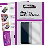 dipos I 6X Schutzfolie klar passend für Shift Shift6m Folie Bildschirmschutzfolie