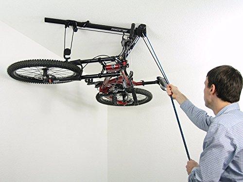 floaterhoist BA1Horizontal Bike Hoist (Glass Storage System)