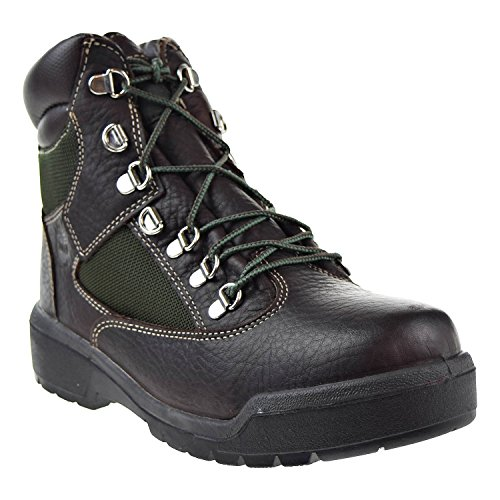 Timberland 6 Inch Field Waterproof Mens Boots Dark Brown tb0a1nlf  9 5 D M  US