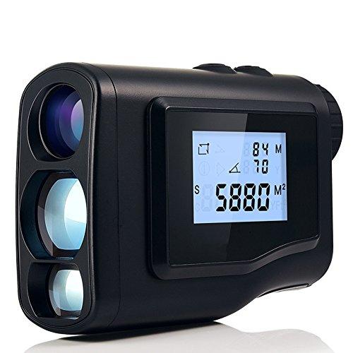 JAYLONG Golf Entfernungsmesser Entfernungsmesser Werkzeug Für Die Jagd 600M / 1000M Entfernungsmesser Monokular Mit Scan Geschwindigkeit 6X Messoptik,600M