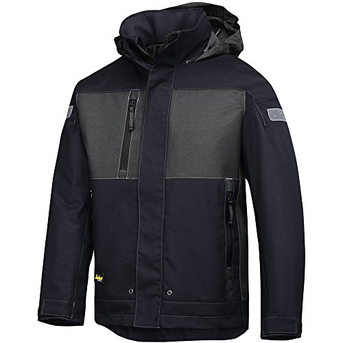 Snickers Workwear, 1178, Snickers Waterproof Jacket Gr. L regolare marineblau  /  grau