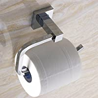 Handost Full Copper Toilet Paper Rack With Chromium Plating (Bright Silver) Durable Modern Minimalist Decoration Quality Assurance Beautiful And Elegant Comfortable