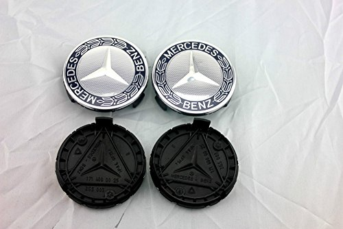4x-original-mercedes-benz-wheel-cover-laurel-wreath-blue-cap-cover-hubcap-wheel-hub-cover-wheel-cap-