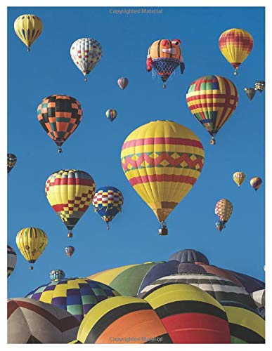 Hot air balloon flight – oversized 8.5x11