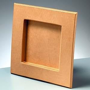 bilderrahmen karton zum basteln bemalen und gestalten 18 5x15cm garten. Black Bedroom Furniture Sets. Home Design Ideas
