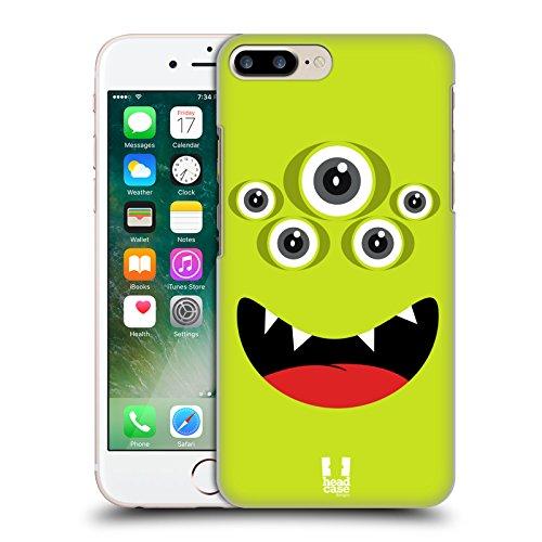 Head Case Designs Grün Fröhlich Monster Ruckseite Hülle für Apple iPhone 3G / 3GS Grün