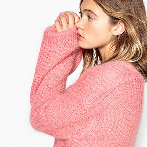 La Redoute Collections Donna Pull Oversize, Mohair Rosa