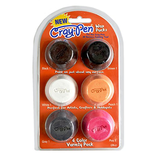 Unbekannt FPC Surebonder CP6–26Stück Wachs Pucks mit cray-pen Malerei Werkzeug, multicolor (Wachs Puck)